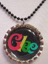 Glee bottle cap necklace SOLD