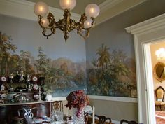 Dunleith Plantation | Fabulous wallpaper scenes depicting different climate zones, created ...