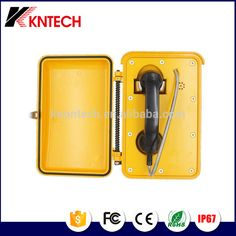 Industrial Telephone KNSP-03 Auto-dial Phone Outdoor IP66 Waterproof Telephone With Door