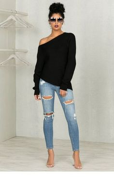 40 Easy and Casual Summer Outfits Ideas for Women – Mode Outfits Summer Outfits Women Over 40, Summer Outfit For Teen Girls, Summer Clothes For Women, Over 40 Outfits, Fashion For Women Over 40, Fall Clothes, Outfit Chic, Outfit Jeans, Tattered Jeans Outfit Casual