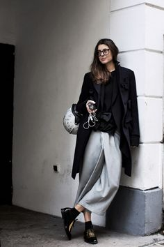 Paris street style, louche and easy, by Scott Schuman