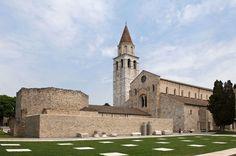 GTRF Tortelli Frassoni Architetti Associati, orsenigo_chemollo · Aula di Cromazio e piazze della Basilica di Aquileia