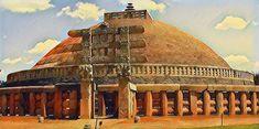 Manoranjan: sanchi stupa Sanchi Stupa, Taj Mahal, Building, Travel, Construction, Trips, Traveling, Tourism, Architectural Engineering