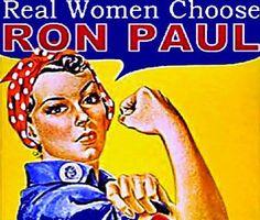 Real Women Choose Ron Paul