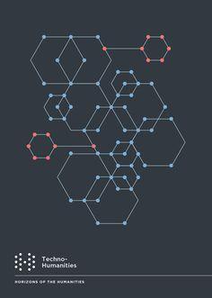 UCHRI Techno Humanities algorithm hexagons.