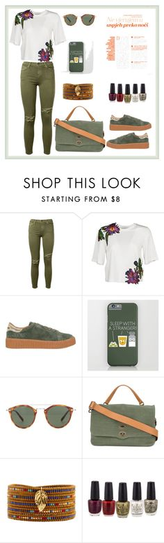 """""""Untitled #150"""" by rita-tahchi ❤ liked on Polyvore featuring Current/Elliott, 3.1 Phillip Lim, No Name, Oliver Peoples, Zanellato and Chan Luu"""