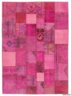 This piece is an over-dyed Turkish patchwork rug created by first neutralizing the colors and then over-dying to achieve a contemporary effect and bring old hand-made rugs back to life. The result is almost like an abstract painting. This piece is backed with cotton cloth as reinforcement. We can also custom make a similar patchwork rug with your color and size requirements.