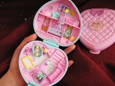 Polly Pocket back in the 90s.... ha! Like one of the coolest toys ever invented! :)