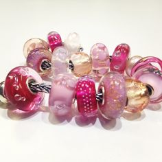 Trollbeads pink dream