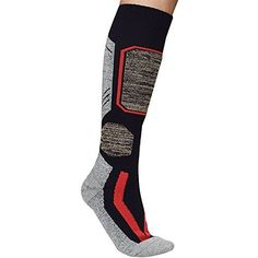 9455d9831216b Asobilor Ski Socks Knee High Skiing Snowboarding Socks Thermal Winter Socks  for