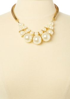 two row pearl necklace