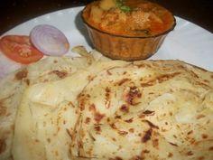 YUMMY TUMMY: Flaky Paratha / Parota / Easy Malabar Parota