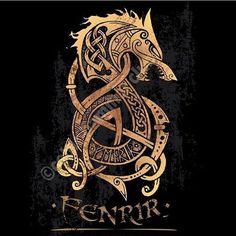 Norse Mythology Tattoo on Pinterest | Scandinavian tattoo Viking ...