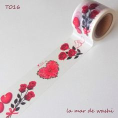 Washi Tape Rosas