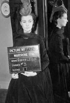 Vivien Leigh as Scarlett O'Hara in a wardrobe still on the set of 'Gone With The Wind' Old Movies, Great Movies, British Actresses, Actors & Actresses, Classic Hollywood, Old Hollywood, Margaret Mitchell, Hollywood Costume, Tomorrow Is Another Day