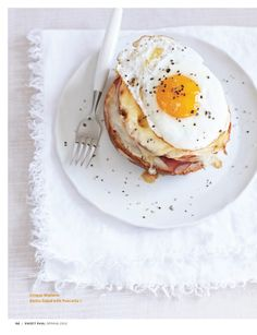 Croque Madame and other great egg delights