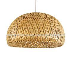 modern pendant light bamboo pendant lamp 30cm/47/cm E27 holder country style…