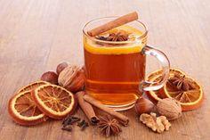 Herbata Z Miodu, Cytryny I Cynamonem