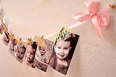 1st Birthday Girl Decorations - 12 Month Photo Banner - Monthly Photo Banner Birthday Garland, http://www.amazon.com/dp/B011VK52QY/ref=cm_sw_r_pi_awdm_.jcGwb1DKZCFB