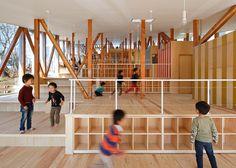 Yamazaki Kentaro Design Workshop design stepped kindergarten