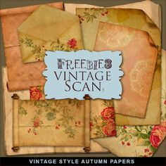 Free Vintage Style Autumn Papers