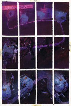 Bill Sienkiewicz _ Stray Toasters 3 - page 19 - 1988 - 41x 27 cm