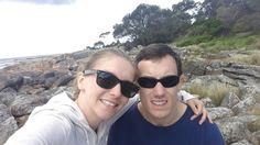 Bozena and Greg in Tasmania