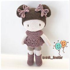 "175 Likes, 4 Comments - Minik İlmekler (@minik_ilmekler) on Instagram: ""#elemeği #göznuru #amigurumi #amigurumilove #crochet #handmade #gift #doll #cute"""