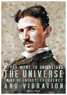 Nikola Tesla Tribute by mickehill on DeviantArt Tesla Nikolai, Nikola Tesla Quotes, Nicolas Tesla, Tesla Coil, Quantum Physics, Animal Quotes, Spiritual Awakening, Law Of Attraction, Famous People