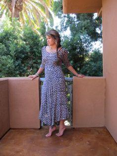 Vintage dress www.marrikanakk.com.