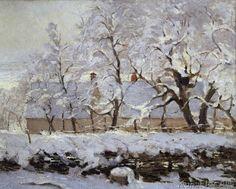 Claude Monet - La pie (Die Elster)