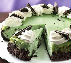 Grasshopper Cheesecake Recipes
