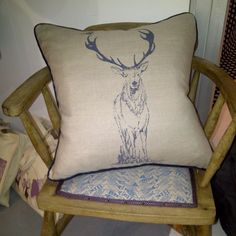 Stanley Stag - the handsomest stag in the forest! From Oscar & Eve!