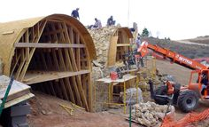 Stone Arch Falsework at Texas Ranch - See more at: http://chambersarchitects.com/blog/231-the-endurance-of-the-roman-arch.html And read all of our blog articles at: http://chambersarchitects.com/blog.html