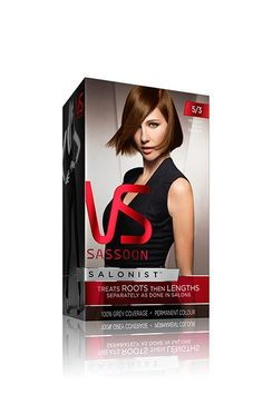 Vidal Sassoon is revolutionizing the way we color our hair at home. Its new Salonist kit gives you the tools to dye your roots and lengths separately, just like stylists do at the salon. This allows for tones that have more depth and drama than your typical box dye. Vidal Sassoon Salonist Hair Colour, $13.99, available at Soap.com.