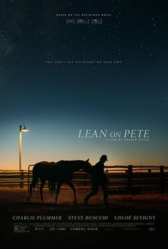 Watch Lean on Pete 2018 describing about the story of a teenager living with his single parent, looks for some kind of employment nurturing a maturing racehorse named Lean On Pete. Watch full uncut movie online on Popcorn Flix for free of cost without any subscription.
