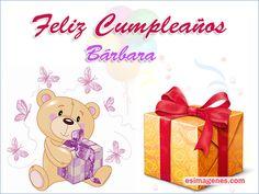 Feliz Cumpleaños Bárbara - Imágenes Tarjetas Postales con Nombres | Feliz Cumpleaños