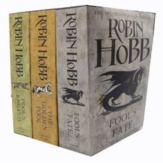Robin Hobb - The Tawny Man Trilogy - 3 Books Collection Set (Fool's Errand: Book One, The Golden Fool; Book 2, Fool's Fate: Book Three)