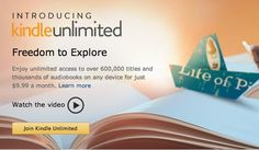 Unlimited Reading. Unlimited Listening. Any Device.   Unlimited 30-Day Free Trial     http://amzn.to/1s0gH0B