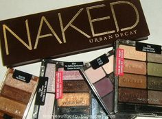 Wet n Wild dupes of the Urban Decay Naked palette (and a bonus CoverGirl dupe!)