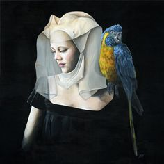 Last chance to see #beautifulbizarre Issue 008 featured artist The Art of Melissa Hartley's solo exhibition 'The Tarnished Hour' at 19 Karen Contemporary Artspace on the Gold Coast QLD - closes on 25 April Full details at http://www.19karen.com.au/melissa-hartley/melissa-hartley-new.php