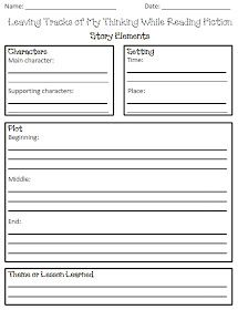 Printables Story Elements Worksheets story elements and worksheets on pinterest i love 2 teach worksheet