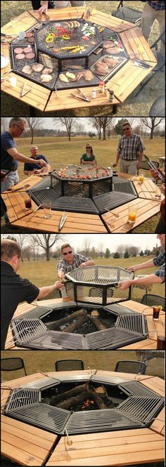 Throughout history we've loved to gather around the fire, while preparing or enjoying a meal… to share, reminisce, love or just stay warm. JAG Grill combines all of the things you need in your outdoor area. Let us know what you think of this 3-In-1 Grill after viewing the full album at http://theownerbuildernetwork.co/tnam Isn't this multi-functional grill perfect for your outdoor area?