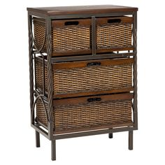 Found it at Wayfair - Tempo 4 Drawer Chest in Dark Walnut