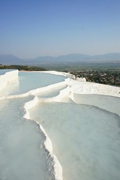 Pamukkale, Turkey Pamukkale, Thermal Pool, What A Wonderful World, Running Away, Wonders Of The World, Pools, Wander, Places Ive Been, Greece