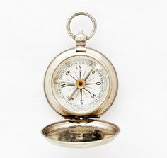 1910s German Pocket Compass / Vintage by TheCompassCollector
