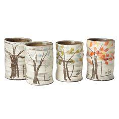 four seasons mug set