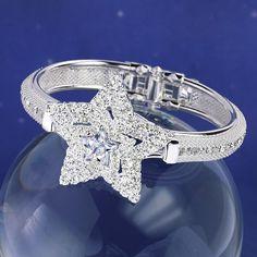 Crystal Star Bangle