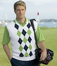 David Leadbetter Argyle Vest from Jos. A. Bank, regularly $99.50, but on sale for $39.80!