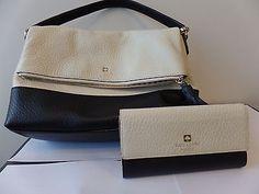 Kate Spade Black and White Bag/Wallet